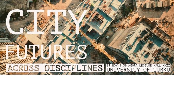 Imagining city futures banner